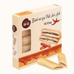 Bánh mì que pate xúc xích Da&su hộp 300g