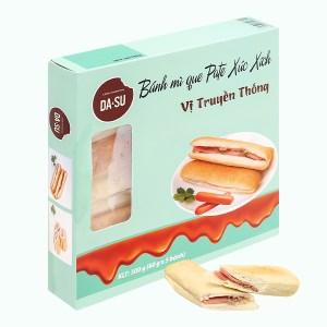 Bánh mì que pate xúc xích truyền thống Da&su hộp 250g