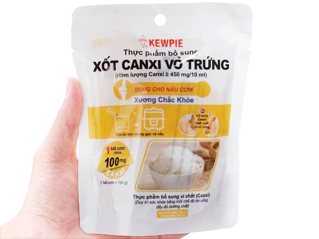 Xốt canxi vỏ trứng Kewpie gói 100ml 5