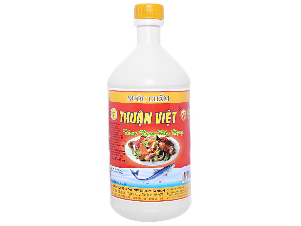 Nước chấm Thuận Việt bình 800ml 1