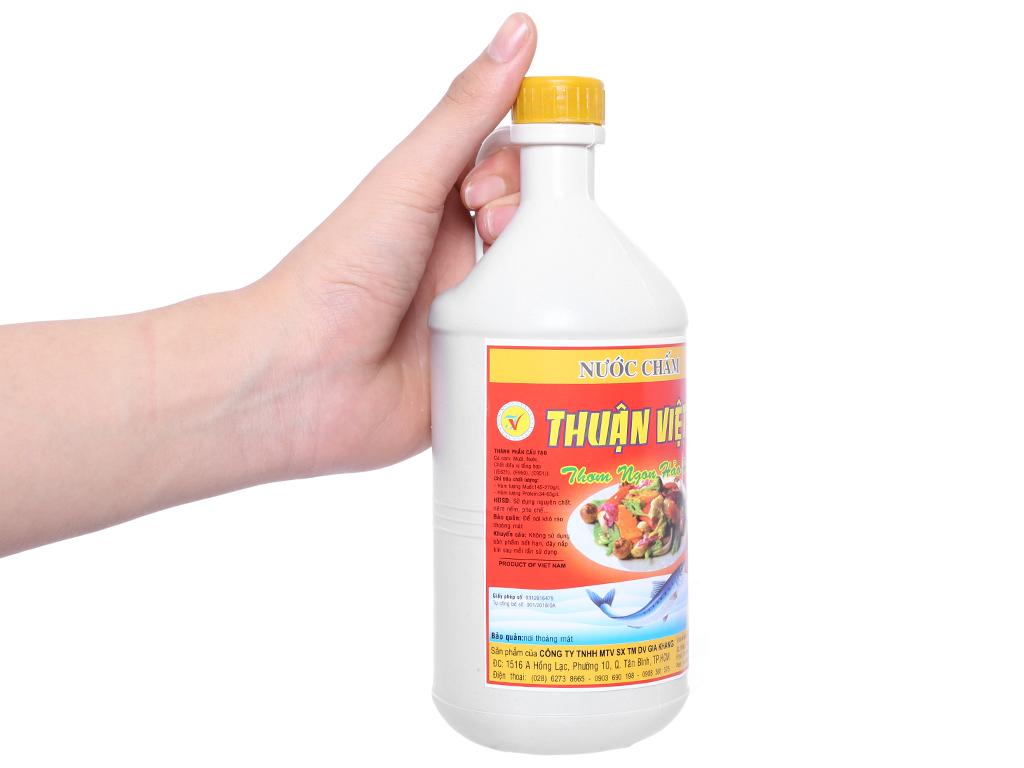 Nước chấm Thuận Việt bình 800ml 4