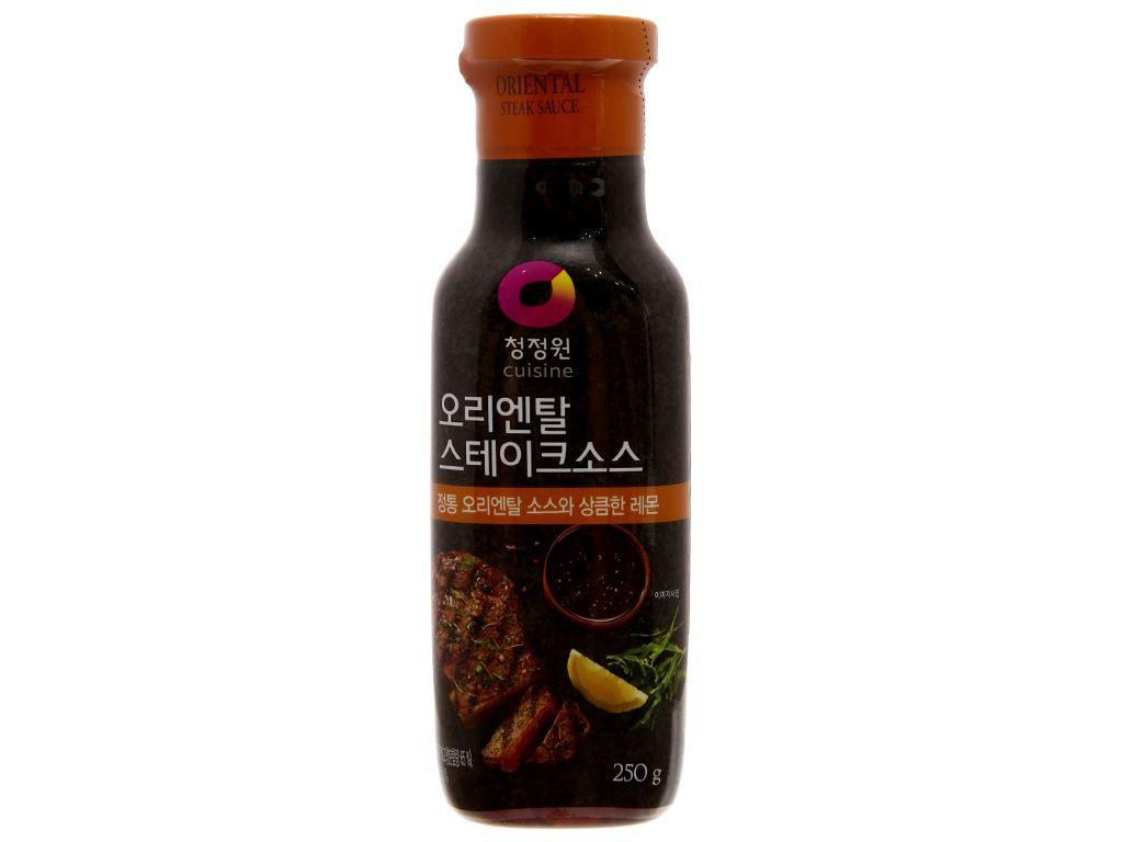 Sốt bít tết Chung Jung One chai 250g 1