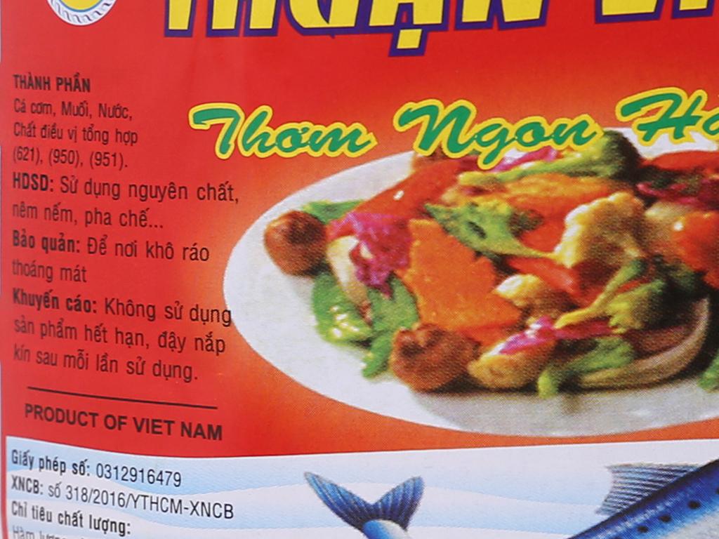 Nước chấm Thuận Việt bình 2 lít 3