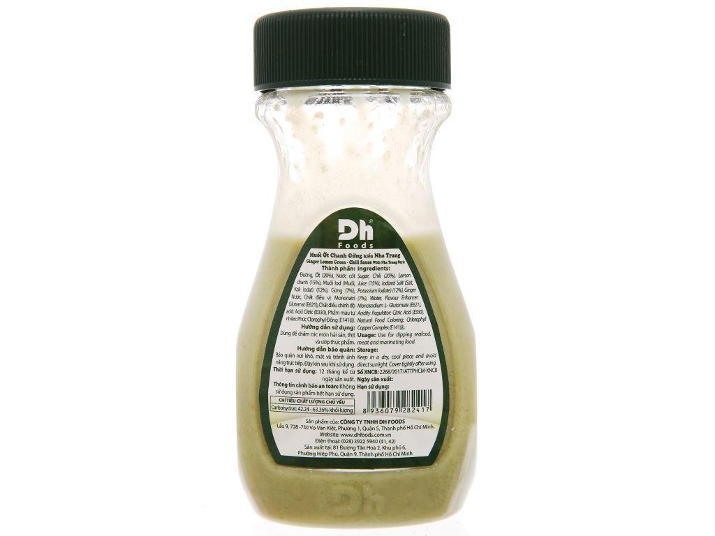 Muối ớt chanh gừng Nha Trang Dh Foods chai 120g 2