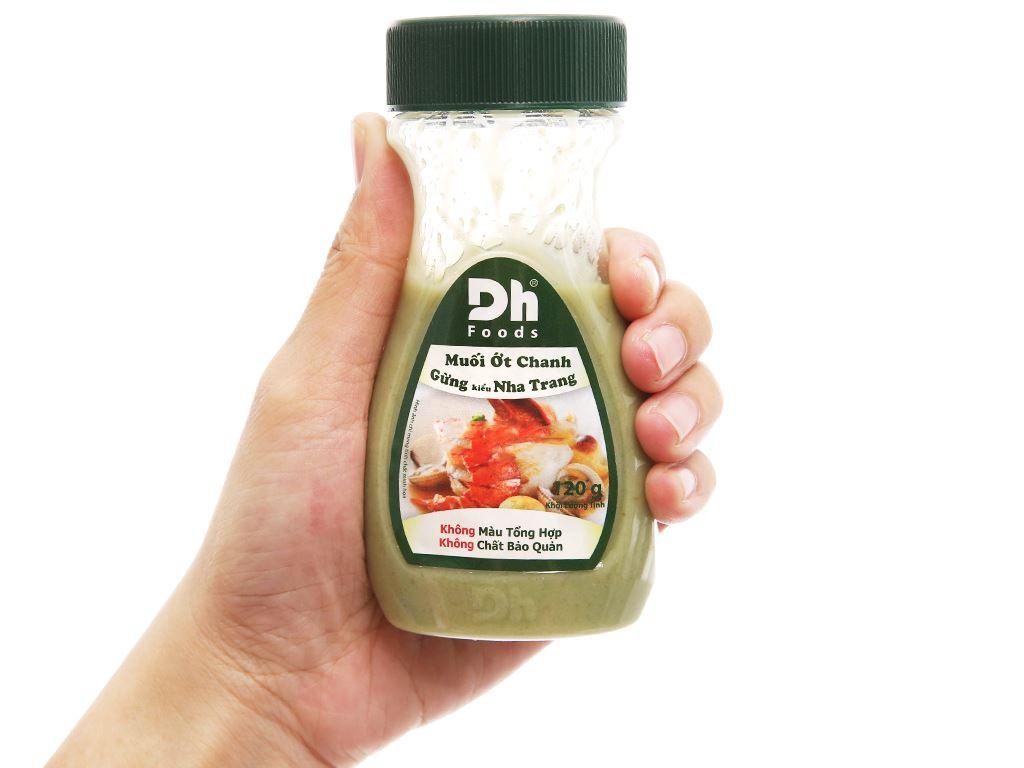 Muối ớt chanh gừng Nha Trang Dh Foods chai 120g 3