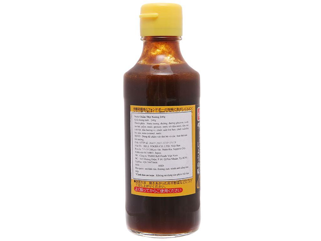 Nước chấm thịt nướng Bell chai 240g 2