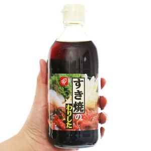 Nước sốt lẩu Sukiyaki Bell chai 400ml