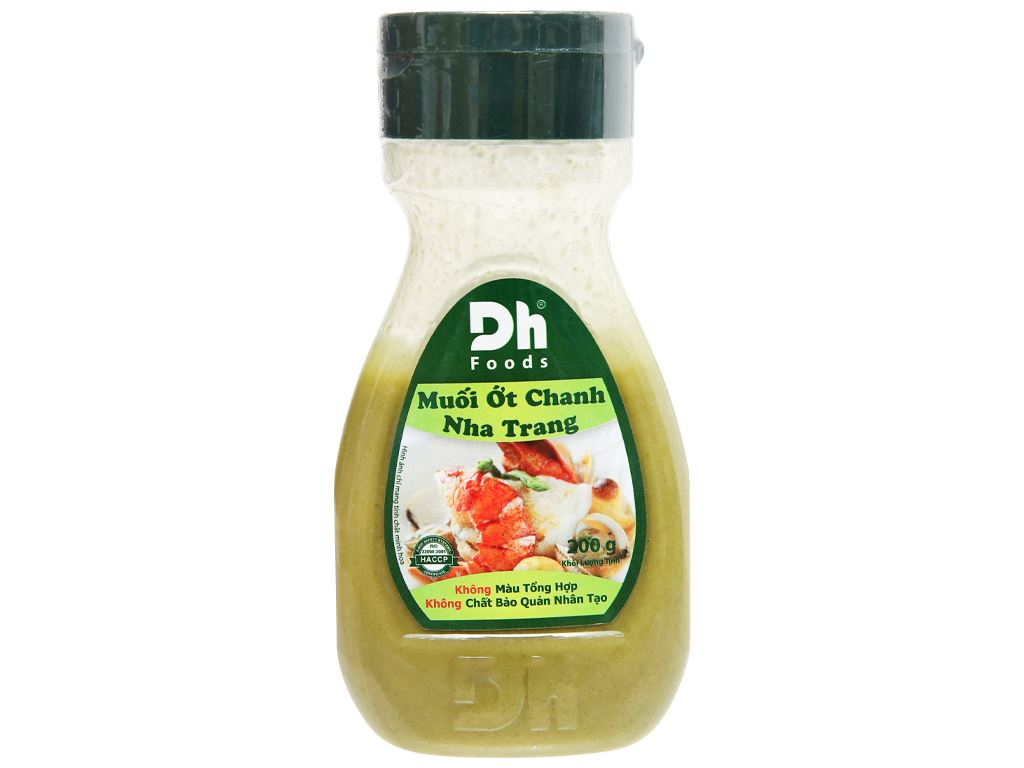 Muối ớt chanh Nha Trang Dh Foods chai 200g 6