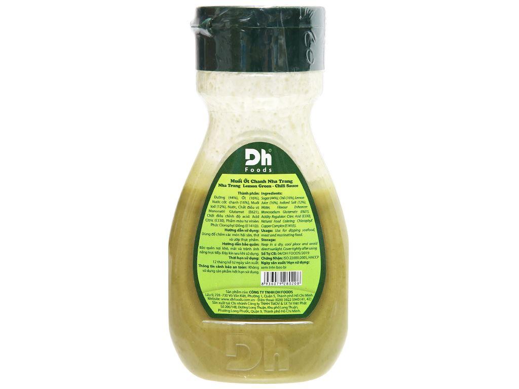 Muối ớt chanh Nha Trang Dh Foods chai 200g 7