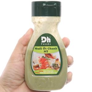 Muối ớt chanh Nha Trang Dh Foods chai 200g
