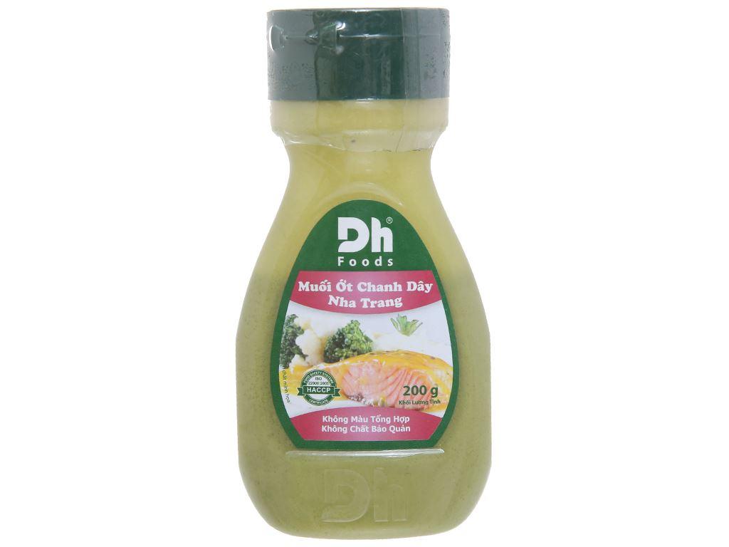 Muối ớt chanh dây Nha Trang Dh Foods chai 200g 2