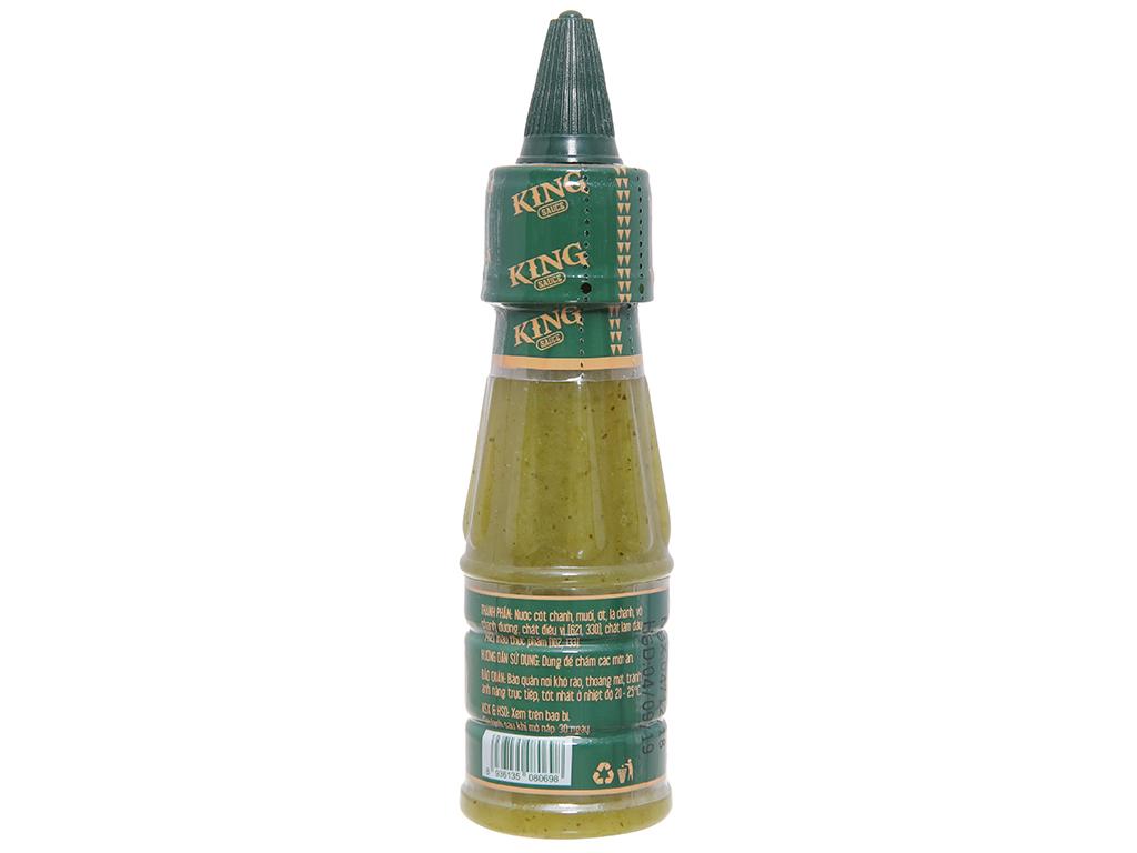 Sốt muối chanh Chavi chai 100g 2