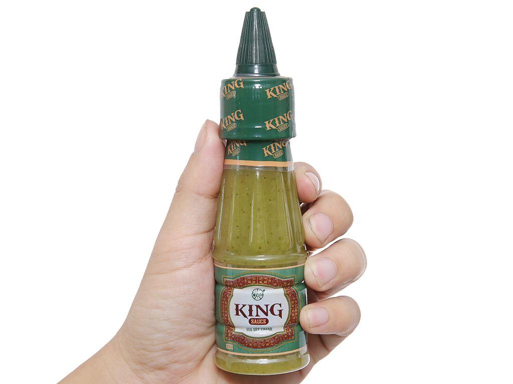 Sốt muối chanh King Chavi chai 100g 3