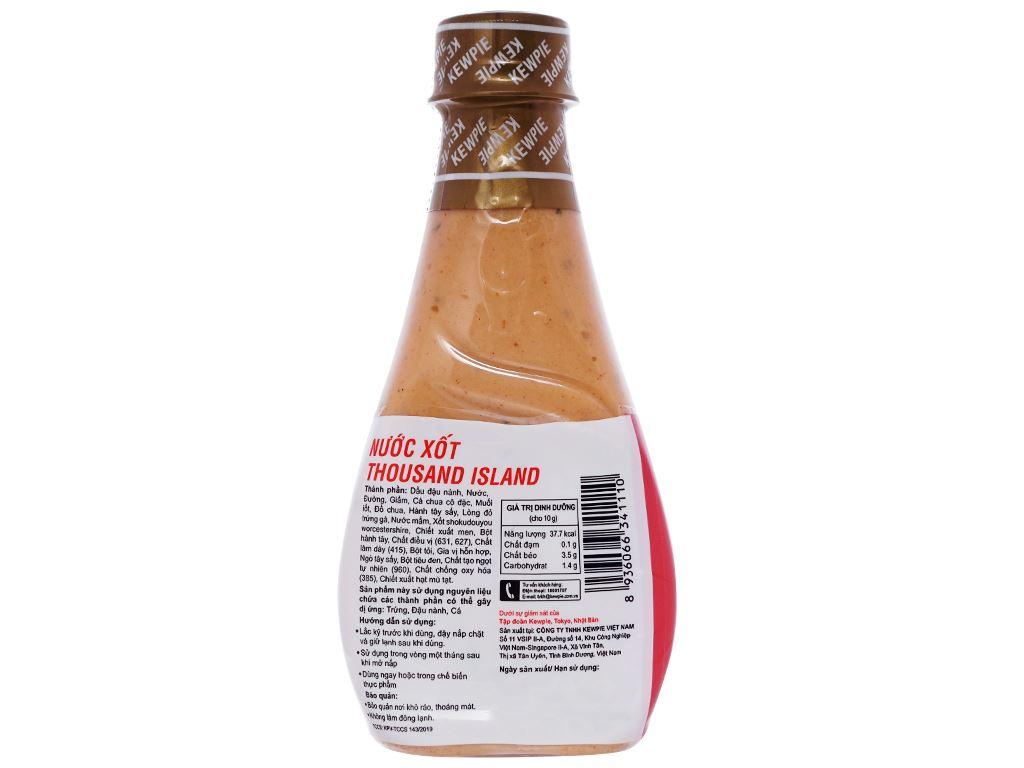 Nước xốt Thousand Island Kewpie chai 210ml 2