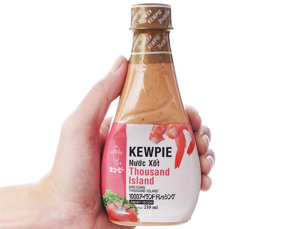 Nước xốt Thousand Island Kewpie chai 210ml 4
