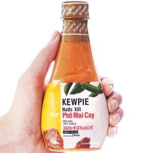 Nước xốt phô mai cay Kewpie chai 210ml