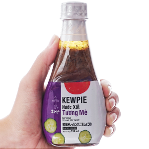 Nước xốt tương mè Kewpie chai 210ml