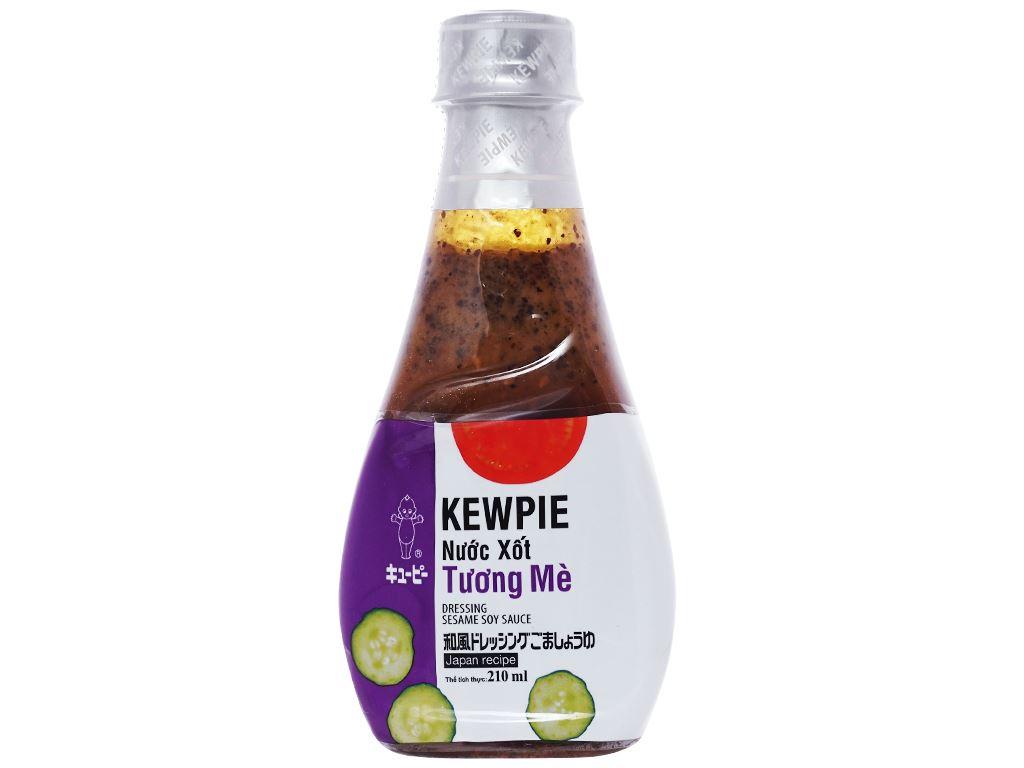 Nước xốt tương mè Kewpie chai 210ml 1