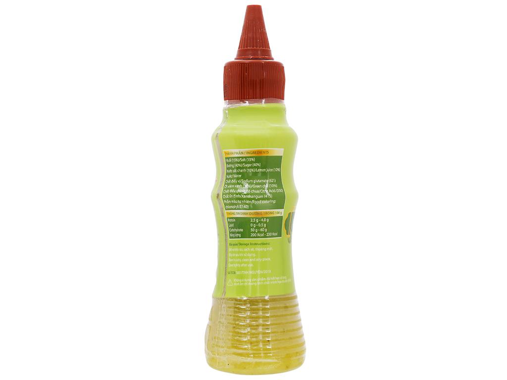 Muối ớt chanh Tinh Nguyên chai 200g 2