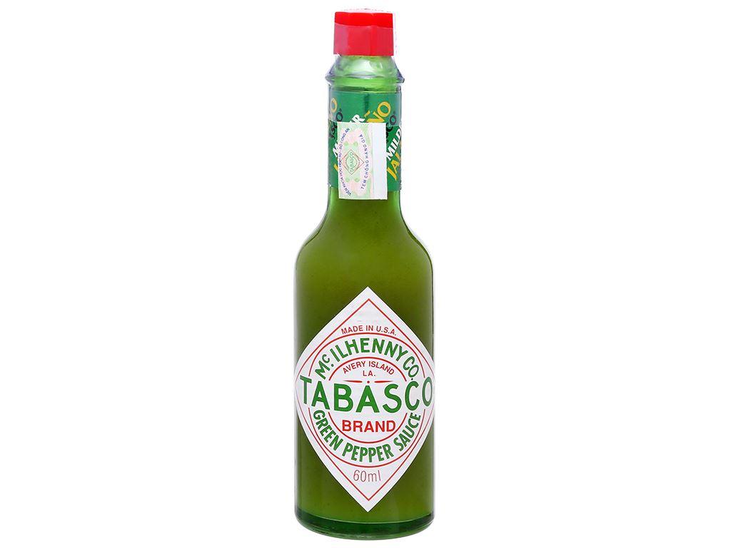 Sốt ớt xanh Tabasco chai 60ml 6