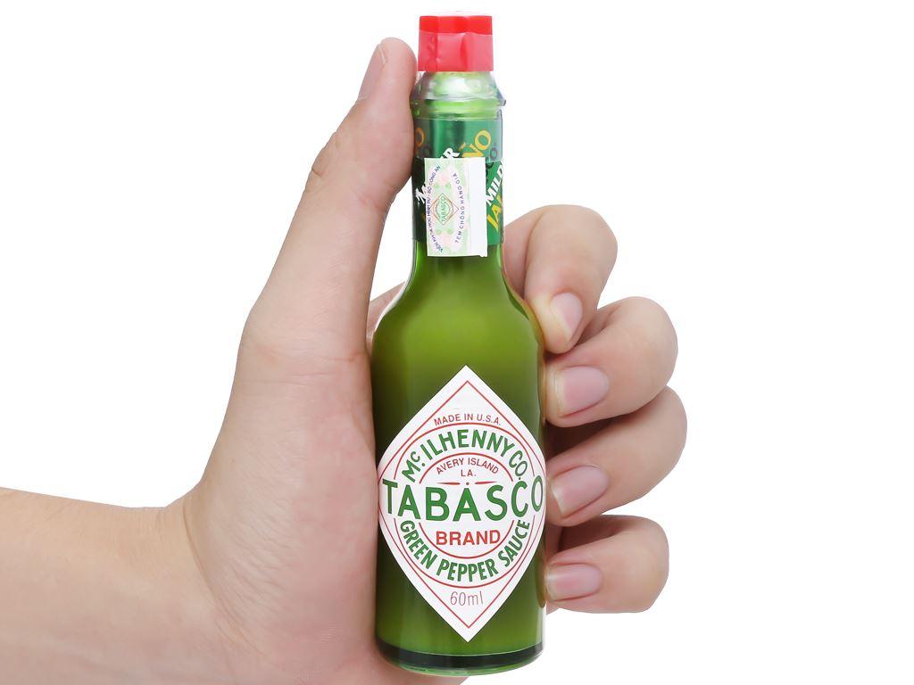 Sốt ớt xanh Tabasco chai 60ml 11