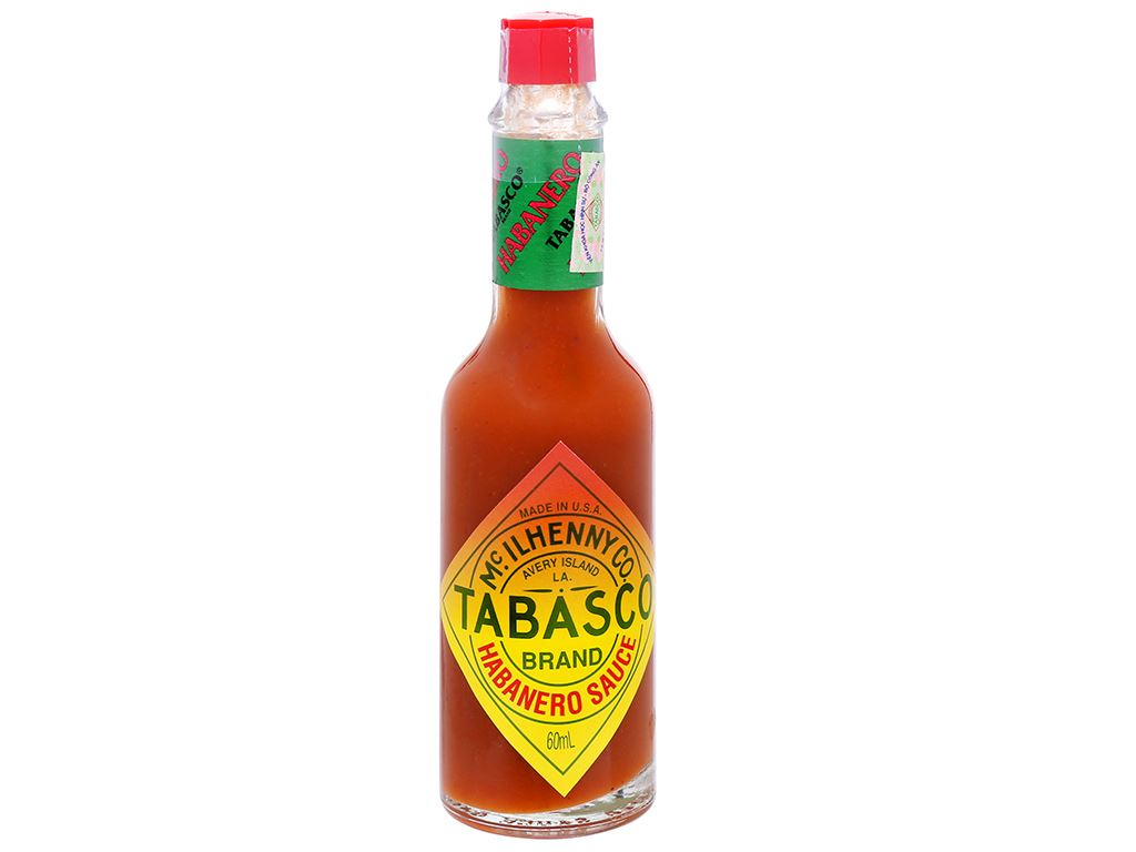 Sốt ớt Habanero Tabasco chai 60ml 6