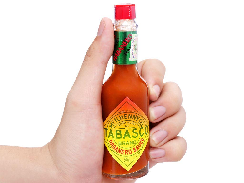 Sốt ớt Habanero Tabasco chai 60ml 11