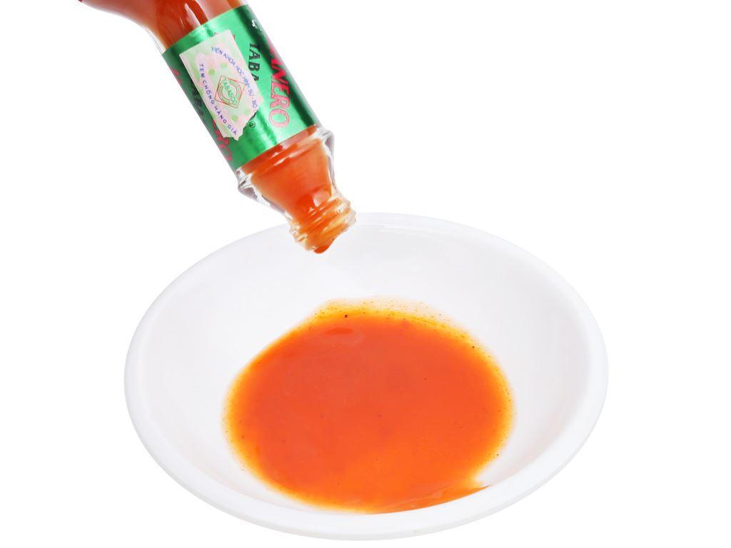 Sốt ớt Habanero Tabasco chai 60ml 12