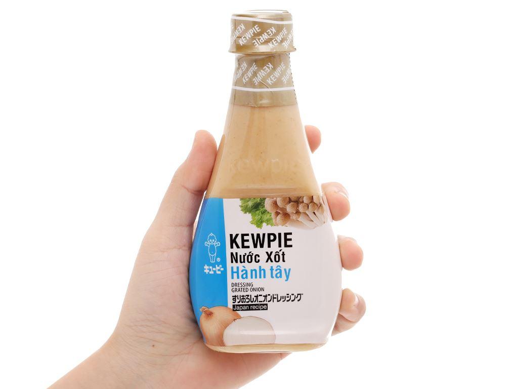 Nước xốt hành tây Kewpie chai 210ml 4
