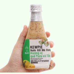Nước xốt mè rang hương vị quả yuzu và tắc Kewpie chai 210ml