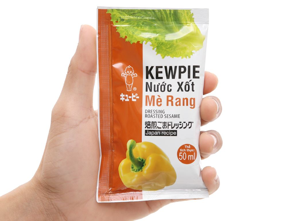 Nước xốt mè rang Kewpie gói 50ml 4