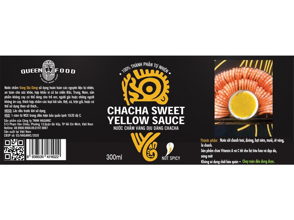Muối ớt vàng cay dịu Queen Food chai 300ml 4