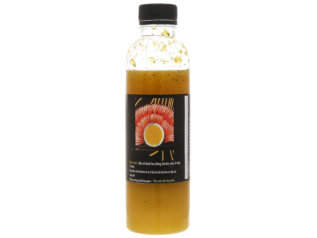 Muối ớt vàng cay dịu Queen Food chai 300ml 2