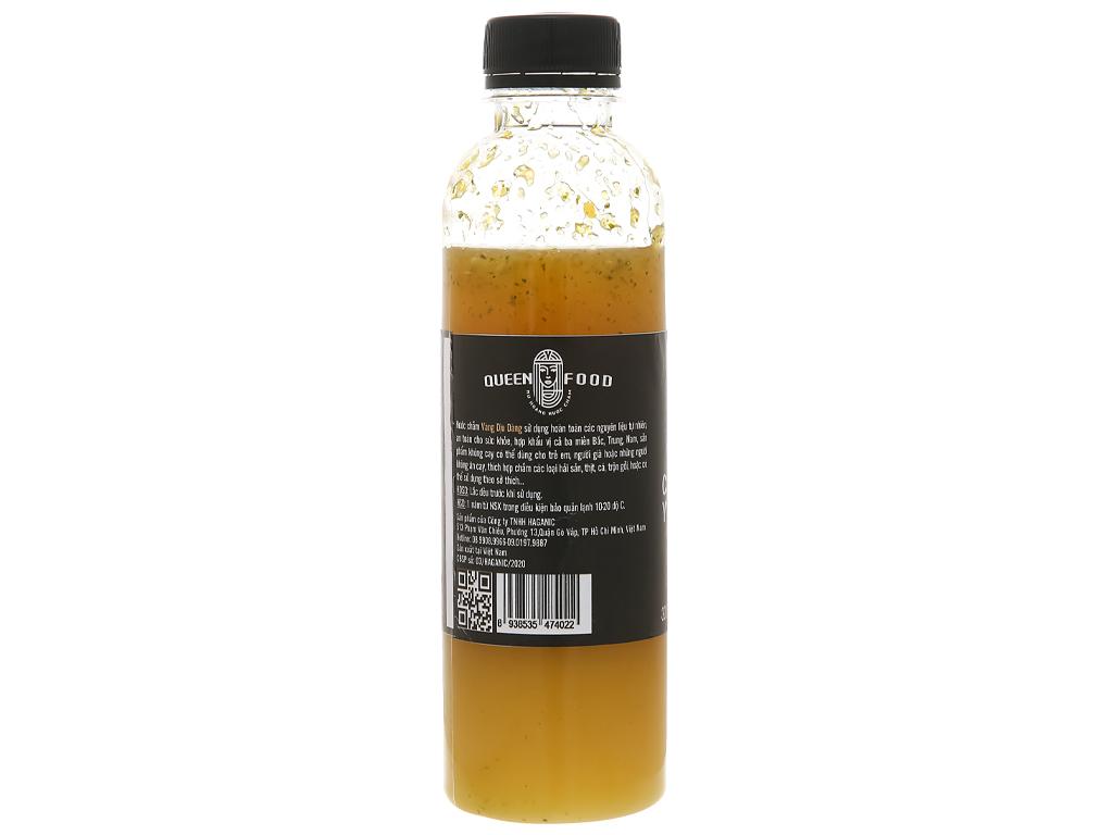 Muối ớt vàng cay dịu Queen Food chai 300ml 3