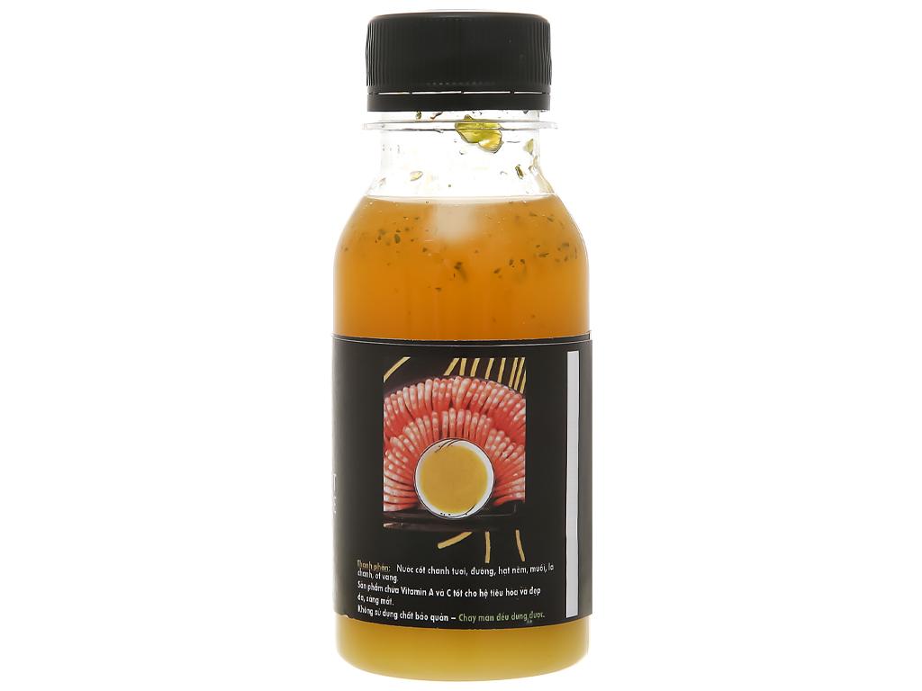 Muối ớt vàng cay dịu Queen Food chai 100ml 2