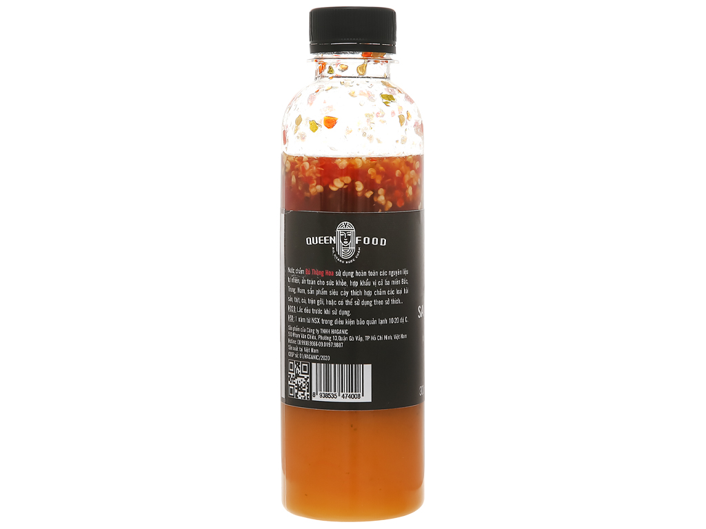 Muối ớt xanh cay nồng Queen Food chai 300ml 3