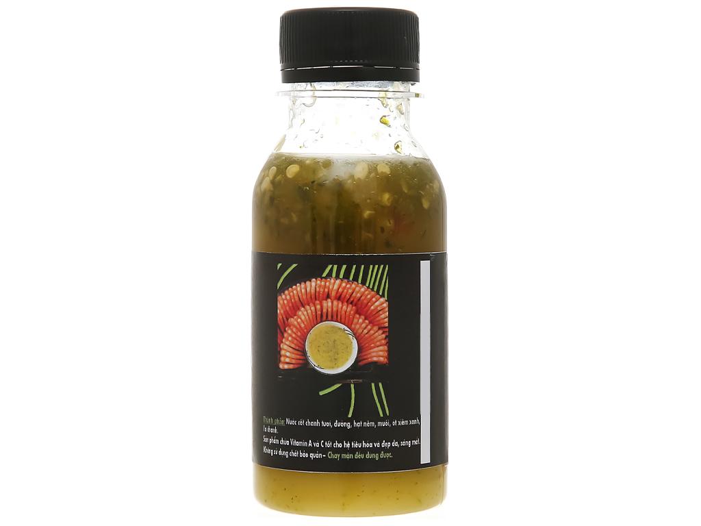 Muối ớt xanh Queen Food chai 100ml 3