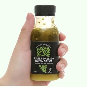 Muối ớt xanh Queen Food chai 100ml