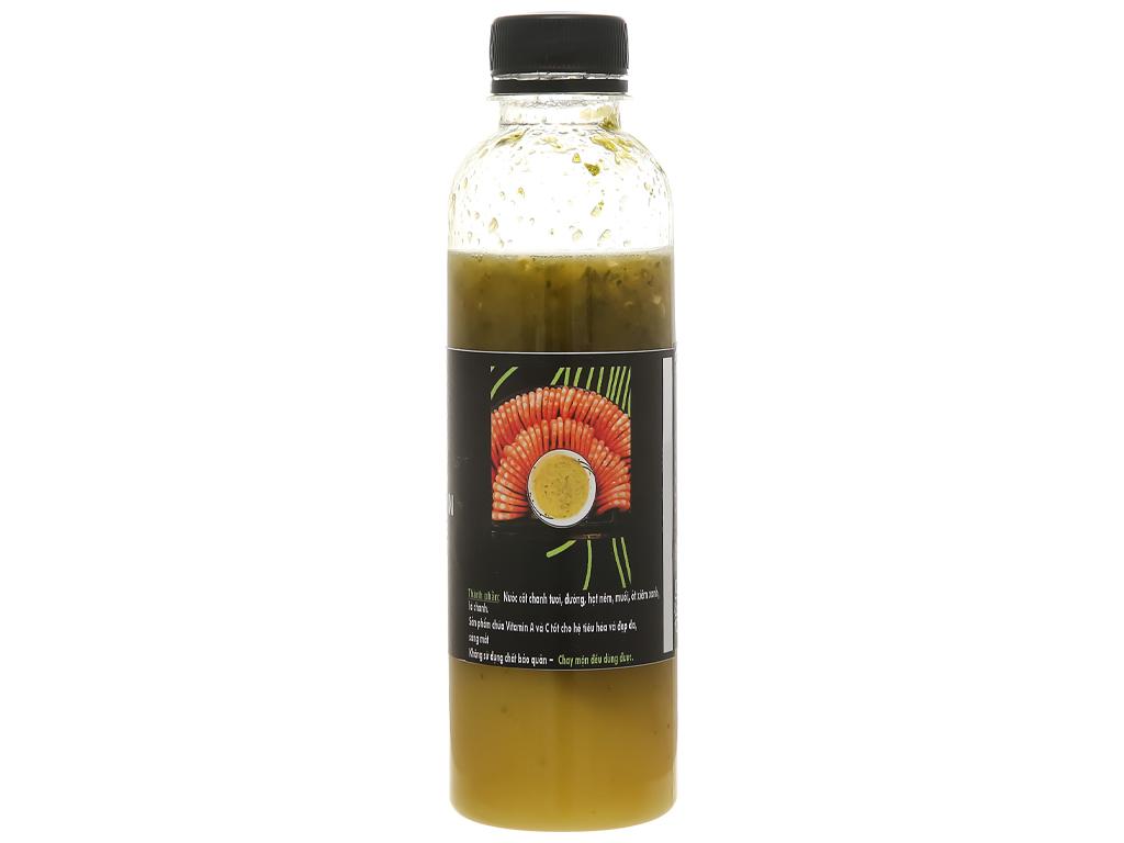 Muối ớt xanh Queen Food chai 300ml 2