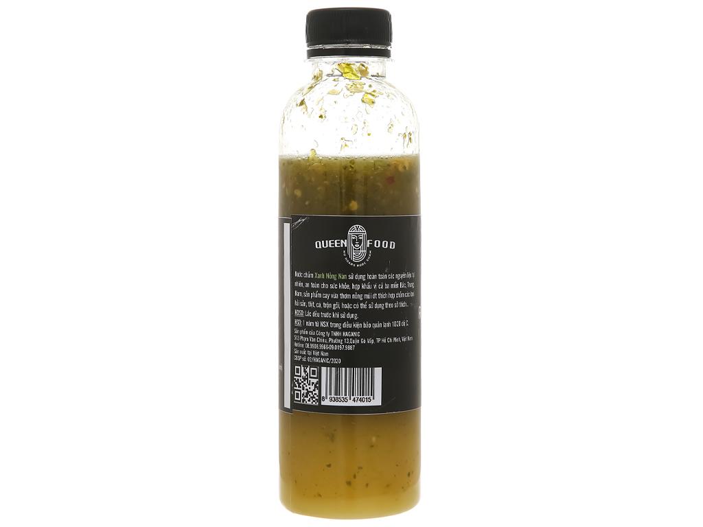 Muối ớt xanh Queen Food chai 300ml 3