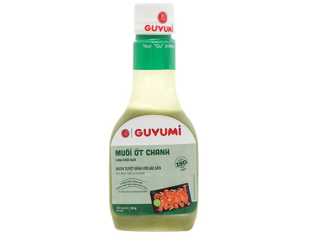 Muối ớt chanh Guyumi chai 200g 1