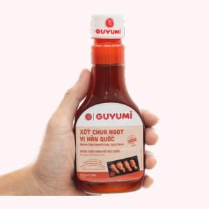 Xốt chua ngọt vị hàn quốc Guyumi chai 200g
