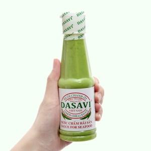 Muối chanh ớt xanh Nha Trang Dasavi chai 260g