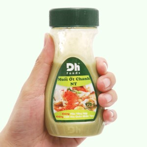 Muối ớt chanh Nha Trang Dh Foods chai 120g