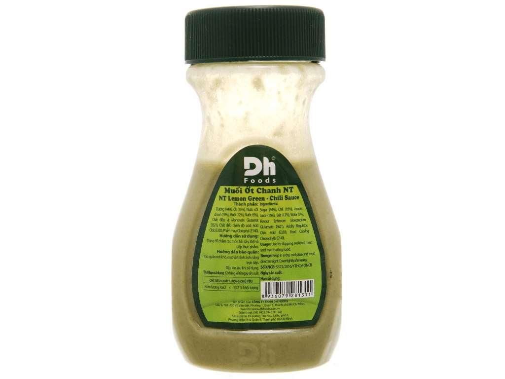Muối ớt chanh Nha Trang Dh Foods chai 120g 2