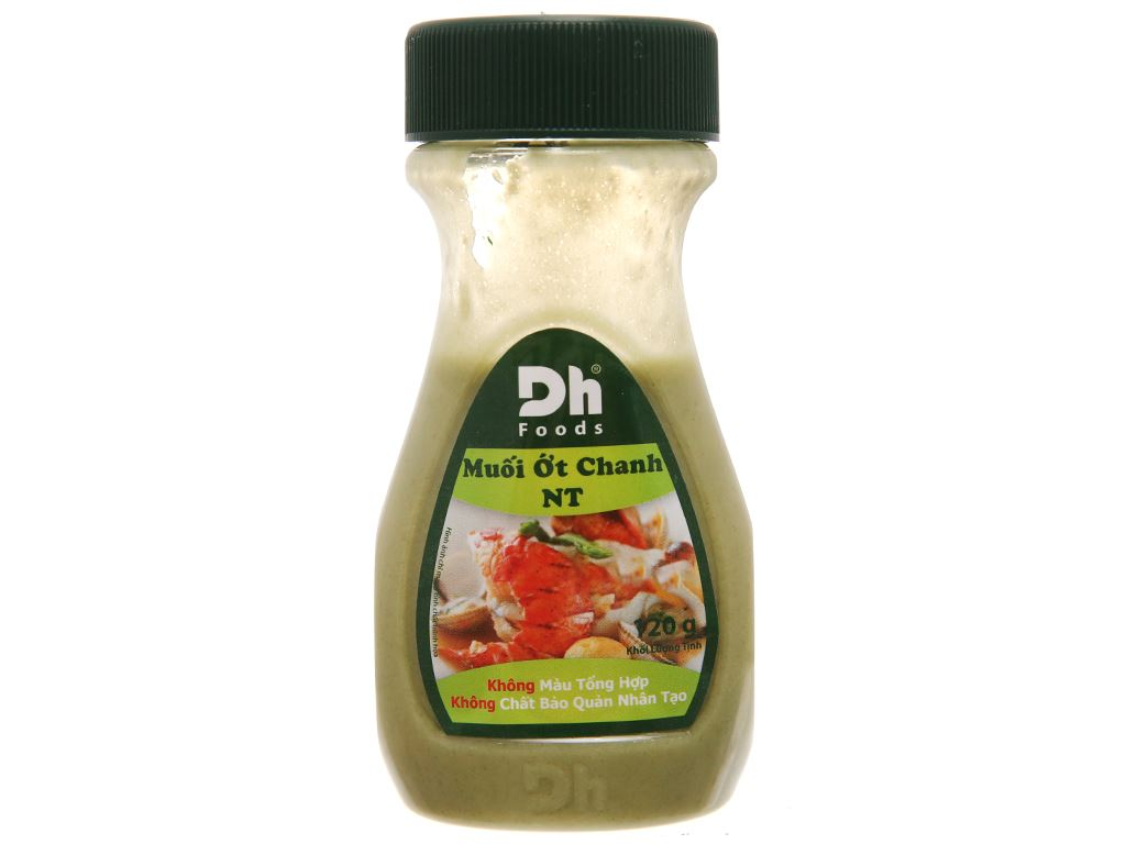 Muối ớt chanh Nha Trang Dh Foods chai 120g 1