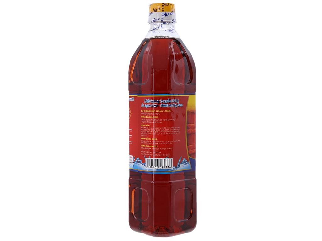 Nước chấm cá cơm Hưng Việt chai 900ml 2