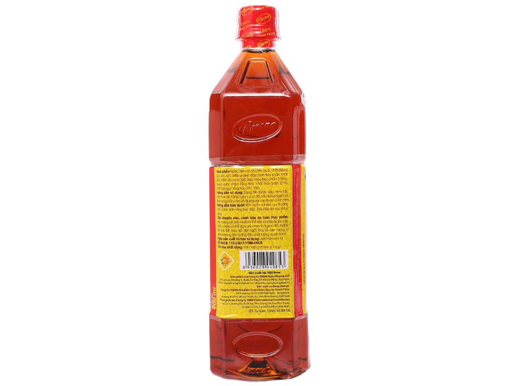 Nước chấm Thuỷ Ngư Barona chai 900ml 2