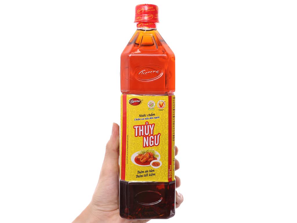 Nước chấm Thuỷ Ngư Barona chai 900ml 3