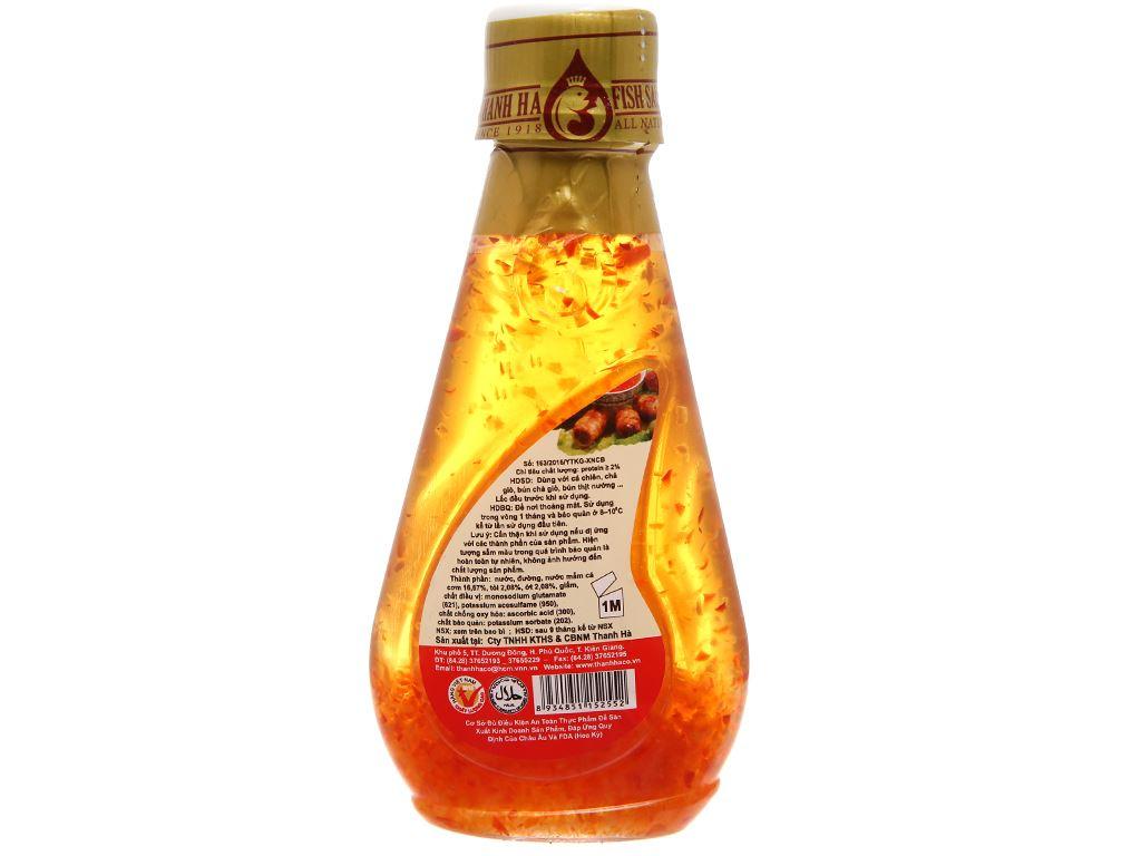 Nước mắm tỏi ớt pha sẵn Thanh Hà chai 150ml 2
